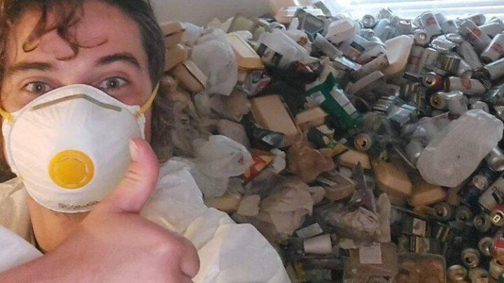Após não pagar aluguel por 1 ano, inquilino é despejado e deixa 8 mil latas vazias de cerveja no apartamento