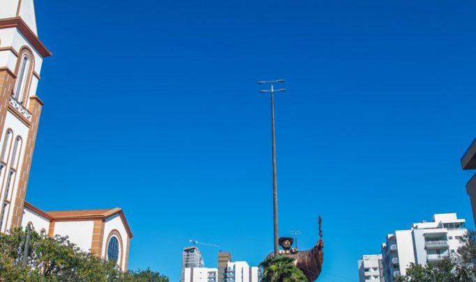 Chapecó tem 227.587 habitantes, segundo estimativa do IBGE