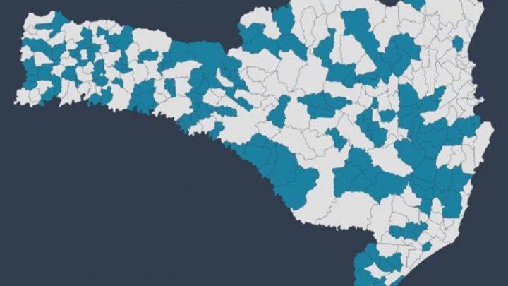 Em SC 143 municípios não tiveram registro de óbitos em agosto