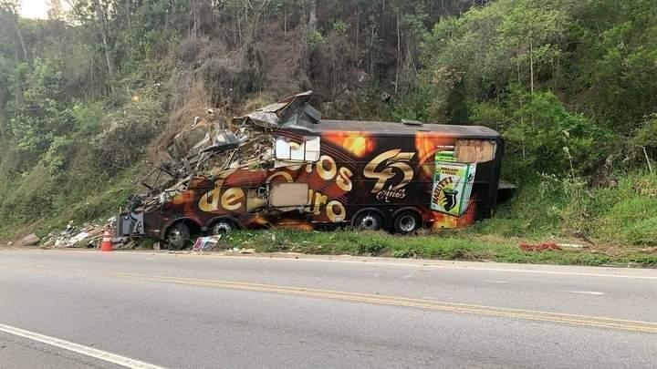 Acidente com ônibus tira a vida de Airton Machado do Garotos de Ouro