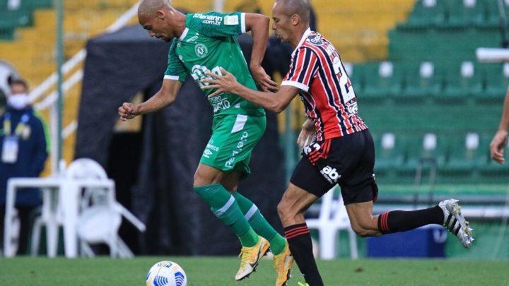Chapecoense empata com São Paulo em jogo que marcou retorno do público